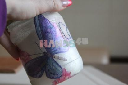 Мастер-класс: Декоративная баночка для сыпучих продуктов своими руками