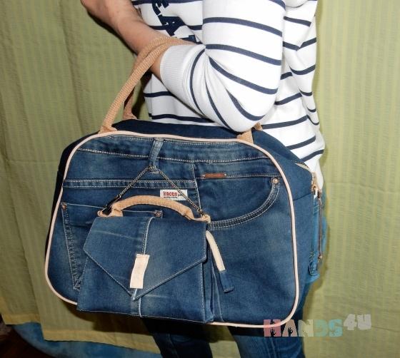 Как сшить повседневную сумку