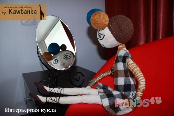 Купить Кукла Tyui, Текстильные, Коллекционные куклы, Куклы и игрушки ручной работы. Мастер Ирина Лукина (Kawtanka) . коллекционная кукла