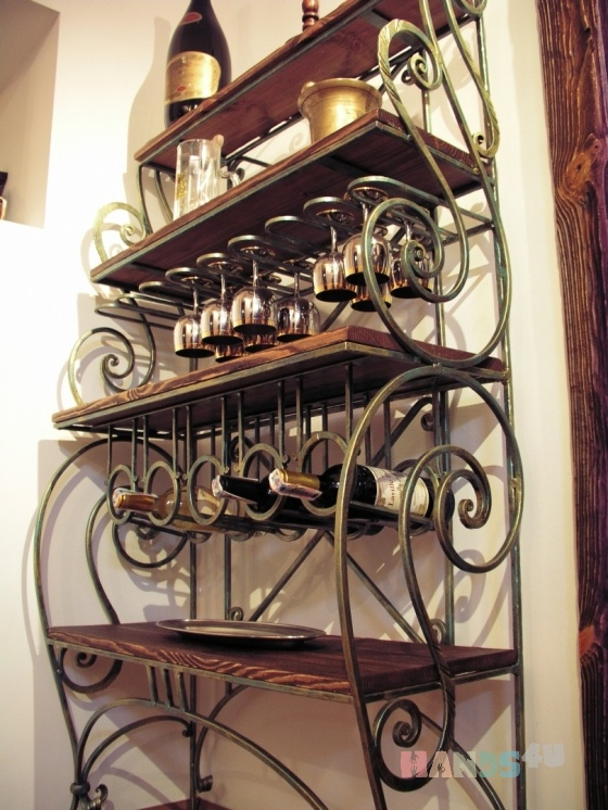 Купить Бар, Полки, Мебель, Для дома и интерьера ручной работы. Мастер Stone Decor (Decor-Stone) .