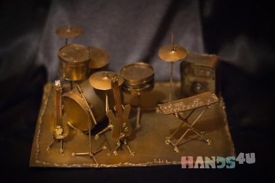 Купить Перекур, Музыкальные инструменты ручной работы. Мастер Антон Иванов (Anton) . сталь