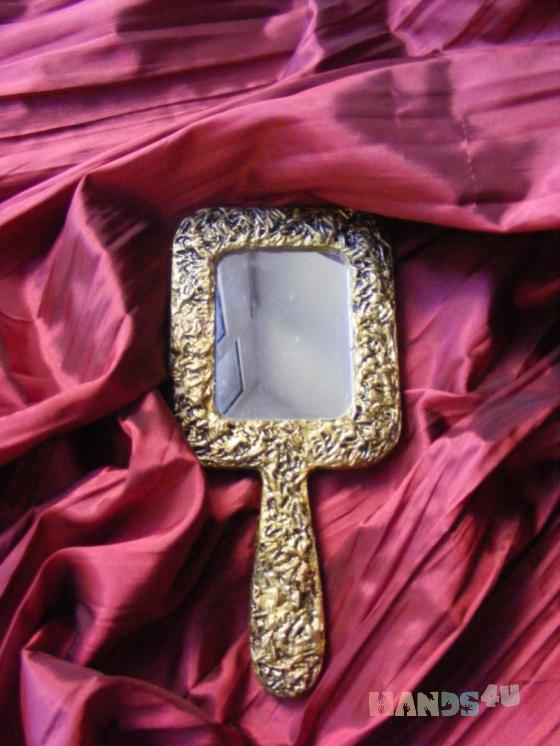 Купить Зеркало Золотые дни, Средние, Зеркала, Для дома и интерьера ручной работы. Мастер Юлия Найок (Yuliya) .