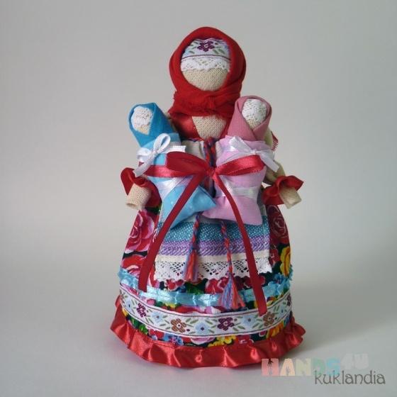 Купить Мамушка, Народные куклы, Куклы и игрушки ручной работы. Мастер Виктория К (kuklandia) . хлопок