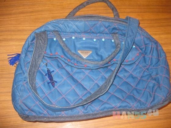 Женские сумки из плащевки своими руками 11