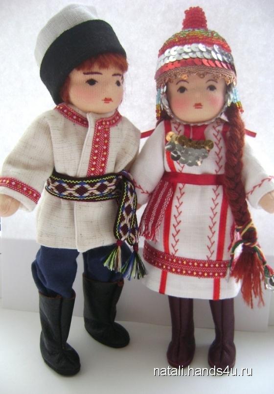 Чувашский народный костюм своими руками 79
