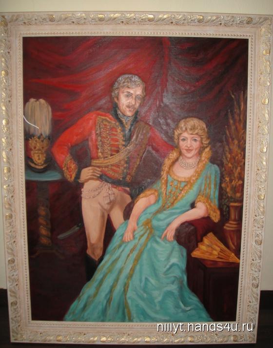 Купить Портрет, Люди, Картины и панно ручной работы. Мастер   (Niilyt) . портрет