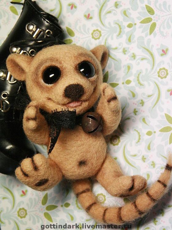 Купить Флоризель, Другие животные, Зверята, Куклы и игрушки ручной работы. Мастер Юлия Карминова (Gottin) . валяные игрушки