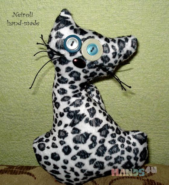 Купить Кота Тишка, Куклы и игрушки ручной работы. Мастер Юлия Карнаух (Neiroli) . игрушка кот