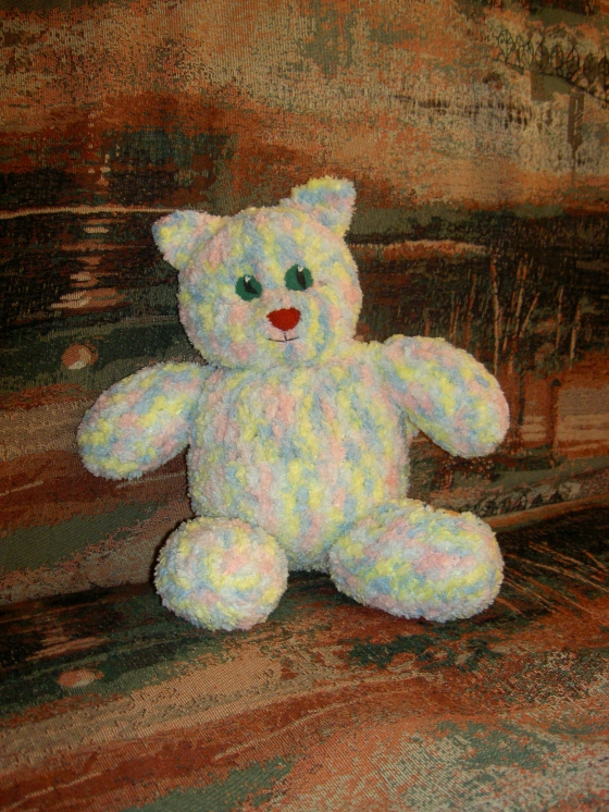 Купить Котик, Куклы и игрушки ручной работы. Мастер Татьяна Минаева (minaevatanya) . нитки и наполнитель