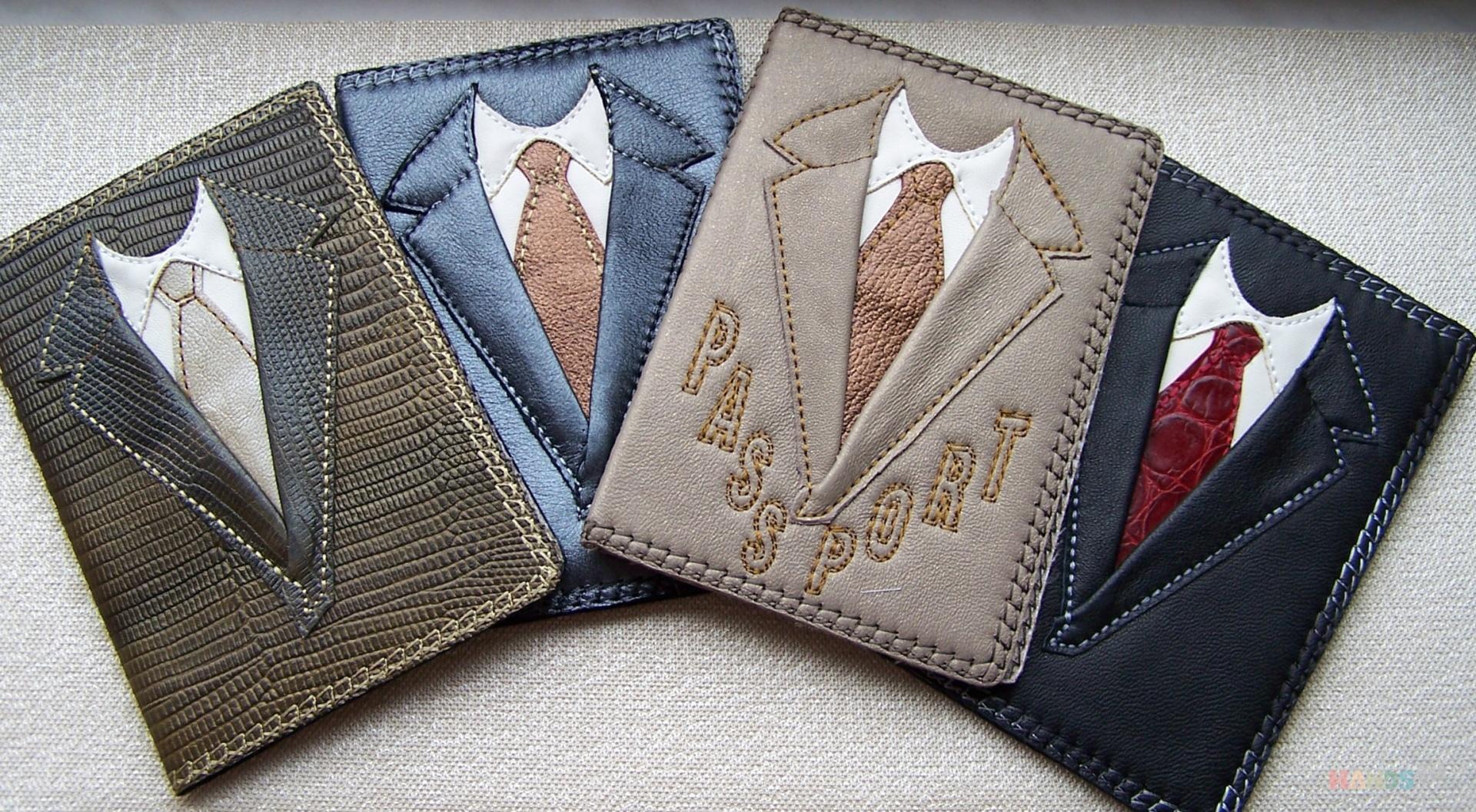 Обложки для паспорта своими руками мастер класс