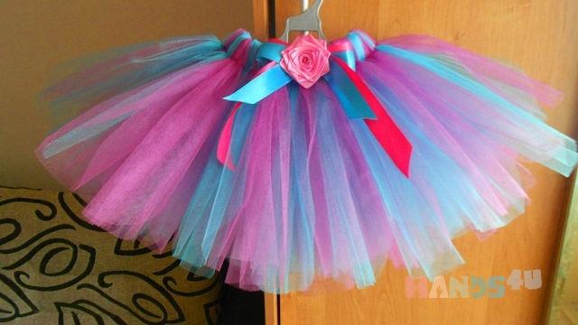 Как сшить юбка пачка для девочки своими руками