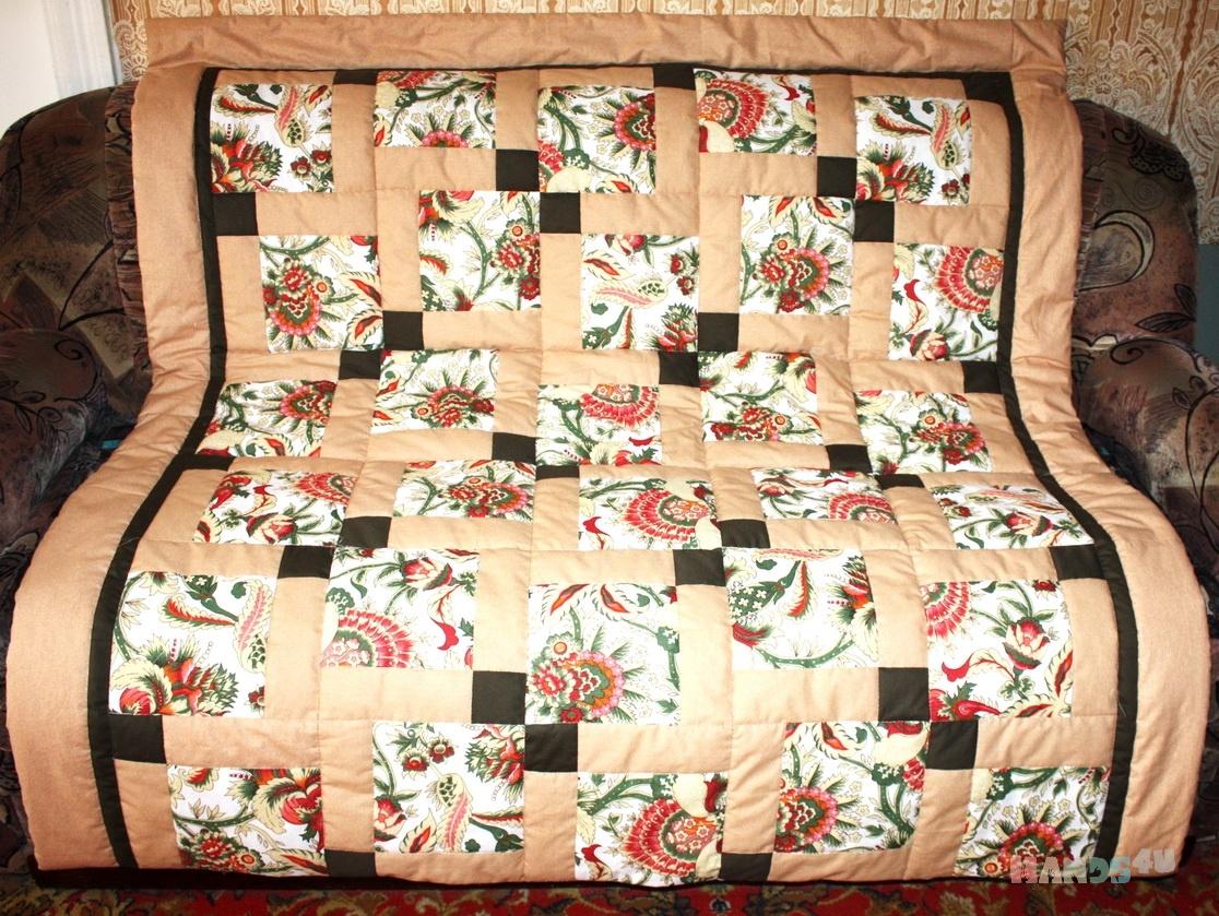 Лоскутное одеяло своими руками мастер класс для начинающих