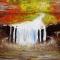 Купить Водопад Вдохновения, Абстракция, Картины и панно ручной работы. Мастер Проект Проект (art-vsplesk) . холст на подрамнике