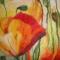 Купить Панно из шерсти Маковый луг, Картины цветов, Картины и панно ручной работы. Мастер Галина Берест (galinaberest) .