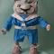 Купить Кот Юнга, Полимерная глина, Коллекционные куклы, Куклы и игрушки ручной работы. Мастер Эмилия Мемили (Memili) . кот матрос