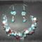 Купить Комплект Бирюза в Красном, Поделочные камни, Камни и жемчуг, Комплекты украшений, Украшения ручной работы. Мастер Марина Марина (Martis) .