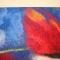 Купить Панно из шерсти  Маки на фоне неба, Картины цветов, Картины и панно ручной работы. Мастер Галина Берест (galinaberest) .