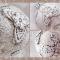 Купить Винтажные новогодние украшения Сицилийское кружево, Комплекты аксессуаров, Для дома и интерьера ручной работы. Мастер Анна Григорьева (Annadream) .