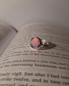 Кольцо из ювелирной эпоксидной смолы