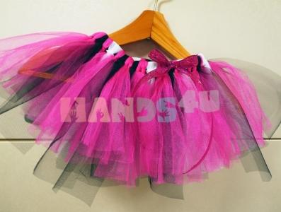 Мастер-класс: Эффектная юбка из фатина своими руками без шитья