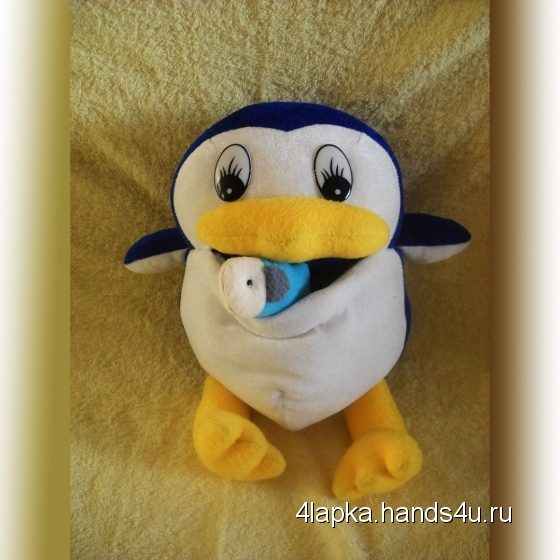 Купить Пингвинёнок Лоло, Развивающие игрушки, Куклы и игрушки ручной работы. Мастер Ольга Колдомаева (4lapka) . игрушка