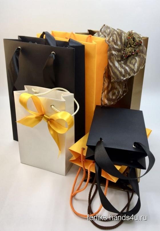 Купить Подарочные пакеты, Персональные подарки, Подарки к праздникам ручной работы. Мастер Ульяна Харитонова (Feniks) . подарок