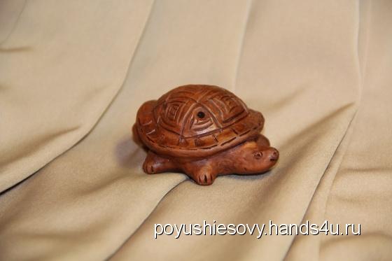 Купить Черепашка - свистулька керамическая, Сувениры и подарки ручной работы. Мастер Oleg Kushin (Poyushiesovy) . авторская керамика