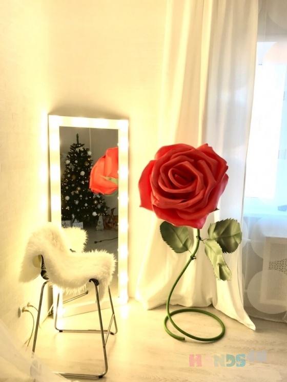 Купить Коралловая роза из изолона, Дизайн интерьеров ручной работы. Мастер Дарья Архипова (rostovoy) . авторские украшения