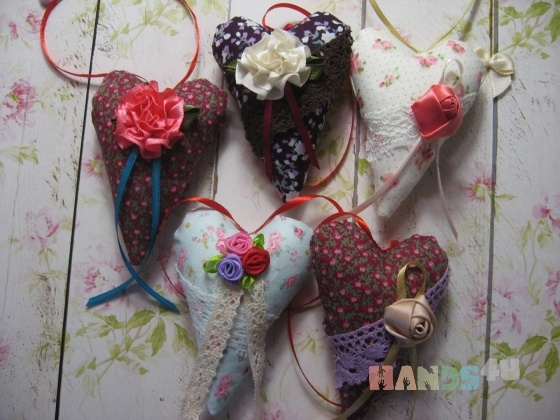Купить Интерьерные сердечки тильда, Куклы Тильды, Куклы и игрушки ручной работы. Мастер Юлия Кунаева (kunaevaJ) . аксессуар интерьера