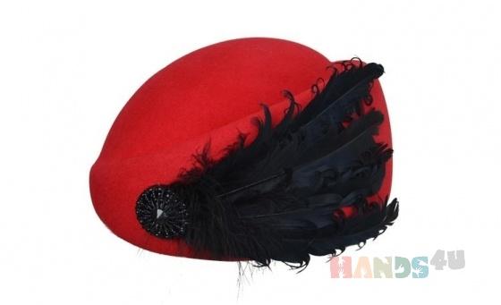 Купить Модная шляпка-берет с украшением - разные цвета, Шляпы, Головные уборы, Аксессуары ручной работы. Мастер Наталья Солнцева (NatalySun) . шерсть