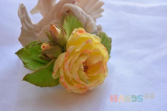 Купить брошь  садовая роза, Броши, Украшения ручной работы. Мастер илона санаксырова (ilona) . украшения на заказ