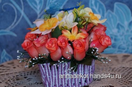 Купить Грация, Цветы и флористика ручной работы. Мастер Анна Пономарева (ANNADEKOR) . декор дома