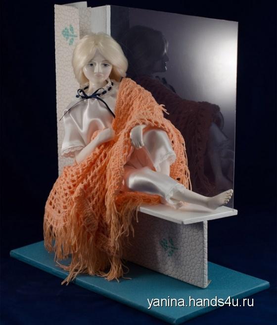 Купить Лунная соната, Смешанная техника, Коллекционные куклы, Куклы и игрушки ручной работы. Мастер Янина Новикова (yanina) . авторская кукла
