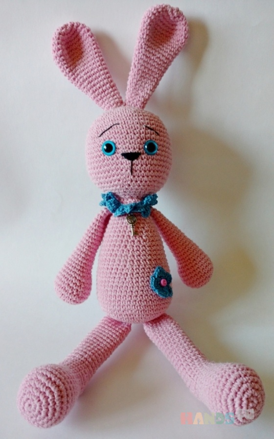 Купить Розовая зайка, Зайцы, Зверята, Куклы и игрушки ручной работы. Мастер светлана тимофеева (svetlan4k) . зайка