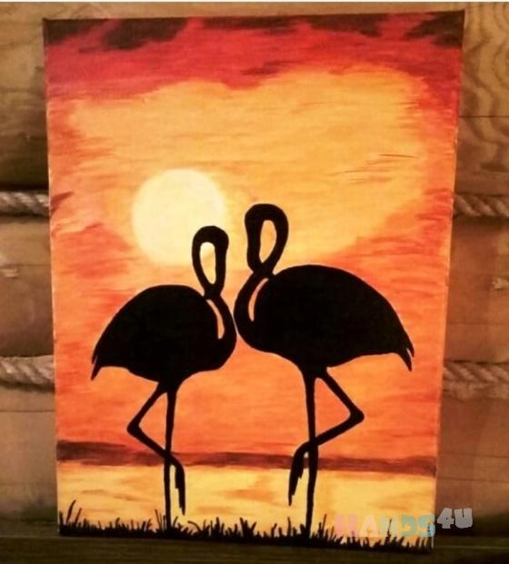 Купить Картина на холсте, Животные, Картины и панно ручной работы. Мастер Ирина Евтушенко (0407-1975) . акрил