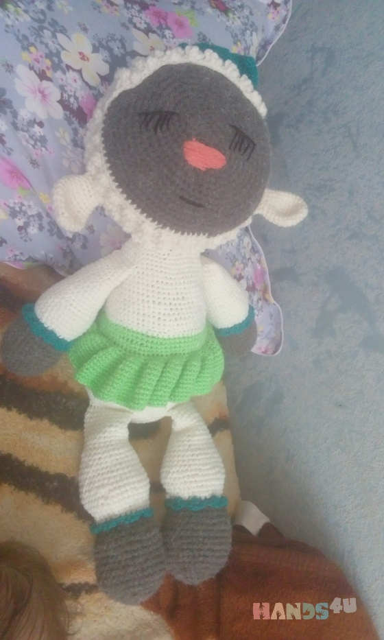 Купить Овечка , Другие животные, Зверята, Куклы и игрушки ручной работы. Мастер Наталья Федоровская (Natalya33) .