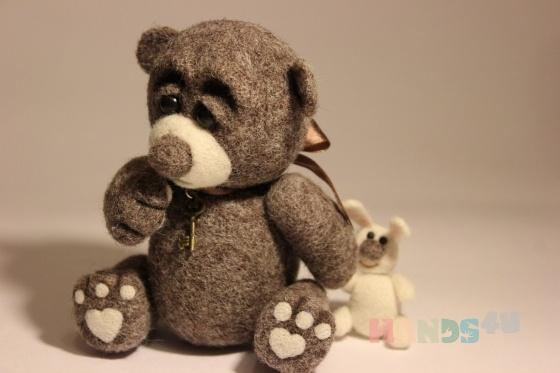Купить Михасик, Мишки, Зверята, Куклы и игрушки ручной работы. Мастер   (Katerinka) . медведь