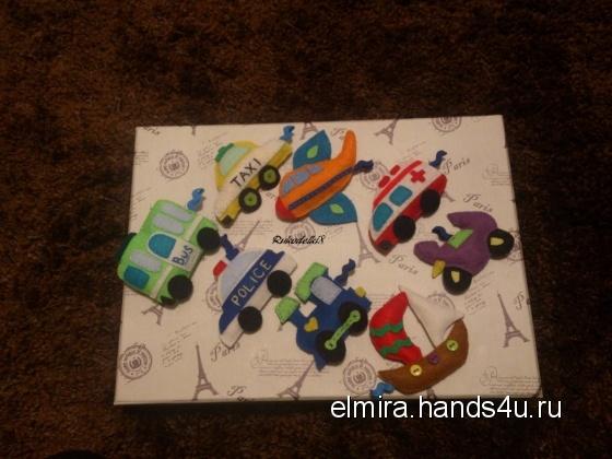 Купить Развивающий набор Машинки, Развивающие игрушки, Куклы и игрушки ручной работы. Мастер Эльмира  (Elmira) . машинки