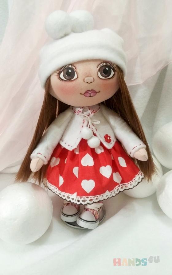 Купить Текстильная интерьерная кукла, Коллекционные куклы, Куклы и игрушки ручной работы. Мастер Елена Ковалева (ElenaBY) . акриловая краска по текстилю