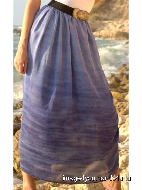 Купить Юбка в пол Аромат бриза, Шитые, Юбки, Одежда ручной работы. Мастер Лариса Коган (image4you) . летняя юбка
