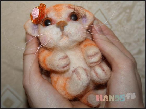 Купить котенок, Коты, Зверята, Куклы и игрушки ручной работы. Мастер Светлана Петрова (Svetlana207) . кот