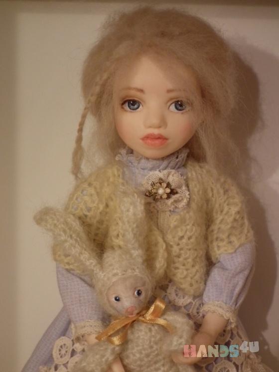 Купить Алиса, Полимерная глина, Коллекционные куклы, Куклы и игрушки ручной работы. Мастер Юлия Иванова (annasyper) . алиса в стране чудес