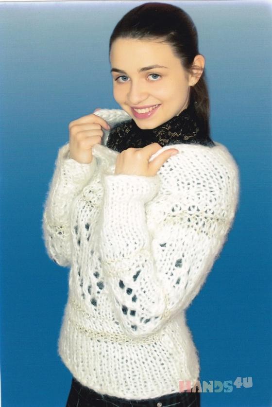 Купить свитер теплый мохеровый Кира, Свитера, Кофты и свитера, Одежда ручной работы. Мастер Маргарита  (Margarita) . вязание на заказ