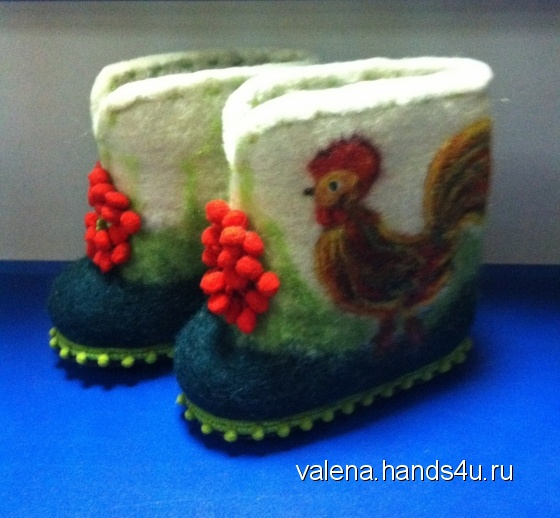 Купить валенки детские, Обувь ручной работы. Мастер Elena Ulevataya (VaLena) . валенки ручной валки