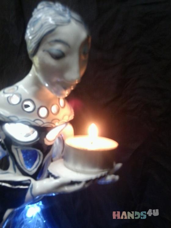 Купить Светильник хранительница огня, Для дома и интерьера ручной работы. Мастер Валерия Чернявская (kiseleva) .