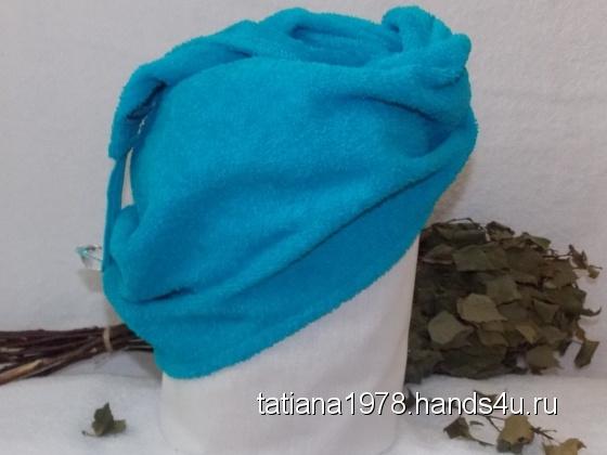 Купить Тюрбан, Банные принадлежности, Для дома и интерьера ручной работы. Мастер Татьяна Семенова (Tatiana1978) .