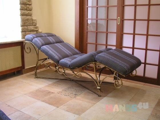 Купить Лежак, Диваны, Мебель, Для дома и интерьера ручной работы. Мастер Stone Decor (Decor-Stone) . металл
