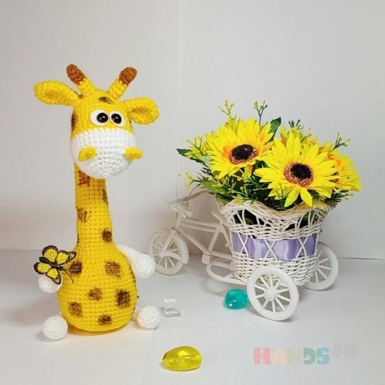 Купить Жираф, Другие животные, Зверята, Куклы и игрушки ручной работы. Мастер Юлия  (parmina) . амигуруми
