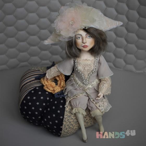 Купить Интерьерная кукла Золушка и тыква, Куклы и игрушки ручной работы. Мастер Ольга Меньших (Menolka) .