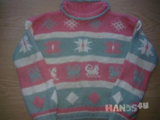 Купить Свитер с узором, Свитера, Кофты и свитера, Одежда ручной работы. Мастер Танюта Поркуян (TaniutaAdis) .